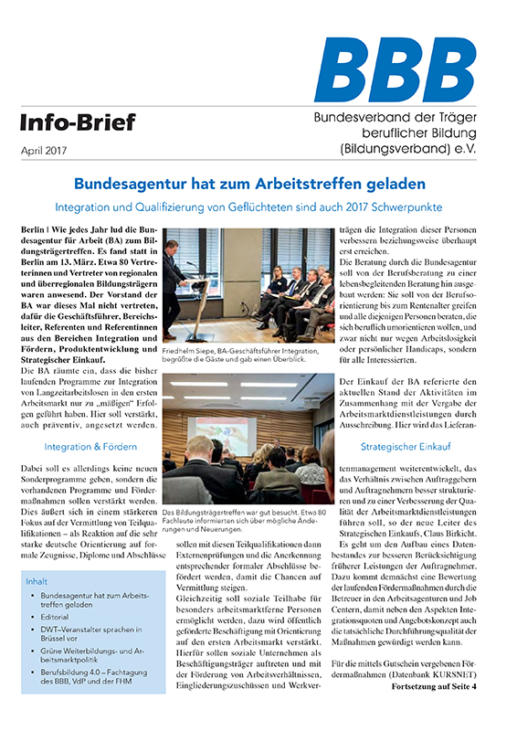 BBB Info-Brief April 2017