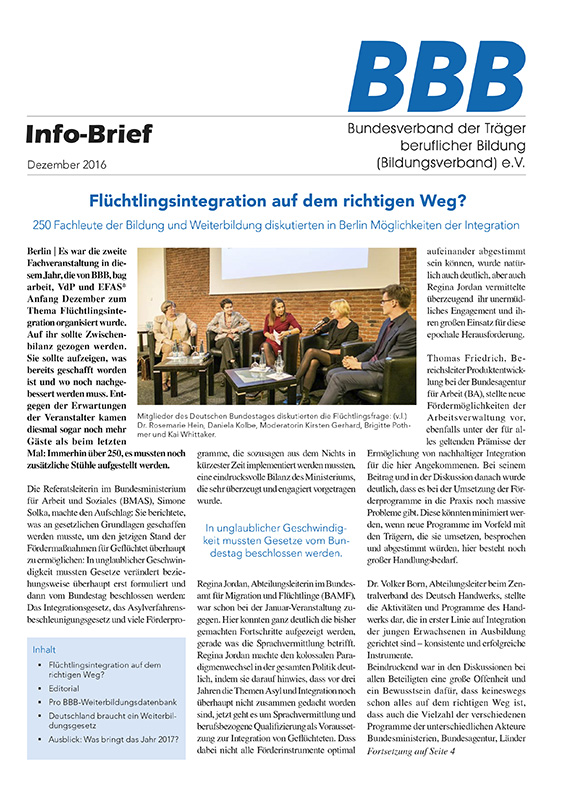 BBB-Info-Brief Dezember 2016