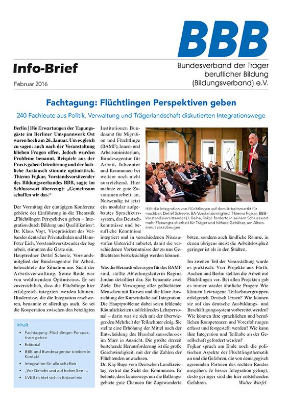 BBB-Info-Brief Februar 2016