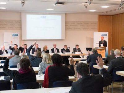 BBB-Mitgliederversammlung 2016