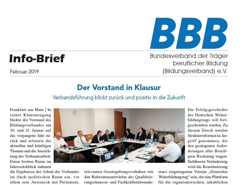 BBB-Infobriefe