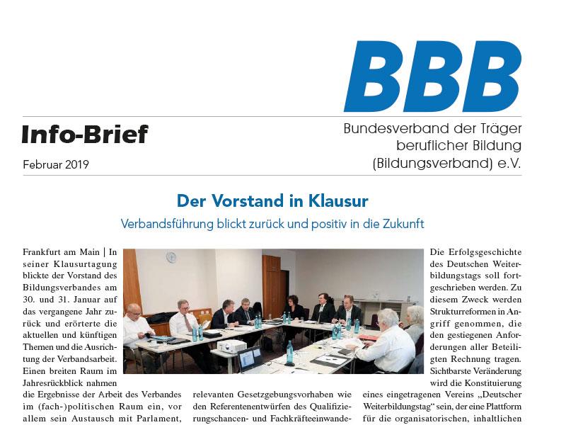 BBB-Infobriefe