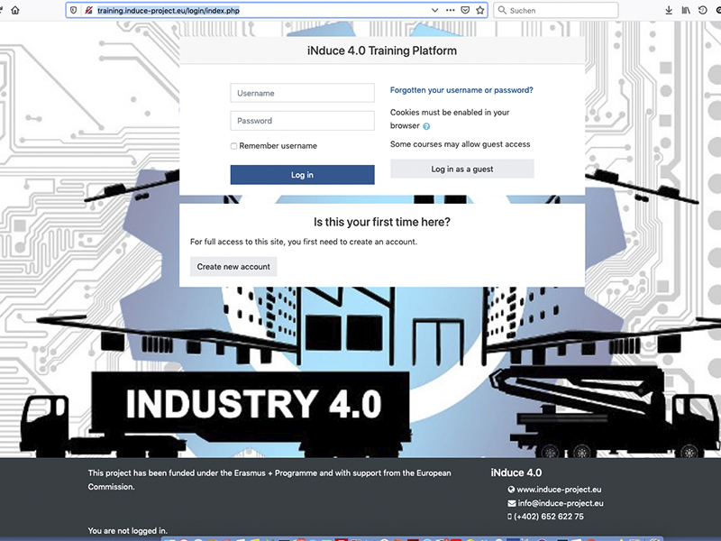 INduce 4.0 Training Platform