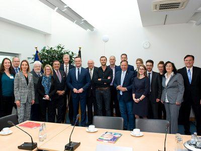 Jens Spahn empfängt Vertreter der Mittelstandsallianz
