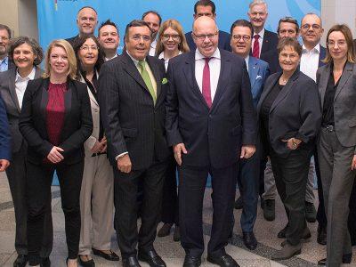Bundesminister für Wirtschaft und Energie Peter Altmaier auf der BVMW-Mittelstandsallianz